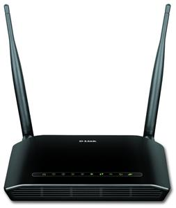 D-Link DSL-2740U Wireless N300 ADSL2+ Modem Router